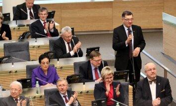2013 metų biudžeto priėmimas Seime