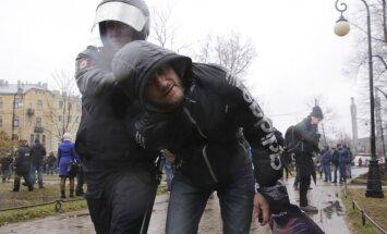 Protestas Sankt Peterburge