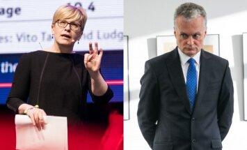 Ingrida Šimonytė, Gitanas Nausėda