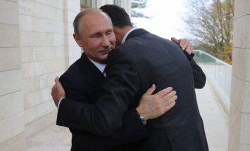 Vladimiras Putinas, Basharas al Assadas