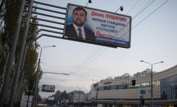 Rinkimų agitacija Luhansko respublikoje