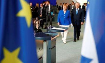 Angela Merkel, Benjaminas Netanyahu