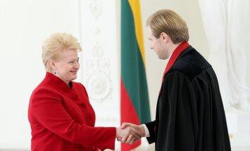 Dalia Grybauskaitė ir Andrius Nevera