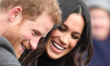Princas Harry ir jo išrinktoji Meghan Markle