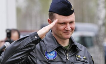 Former Air Force Commander Colonel Audronis Navickas