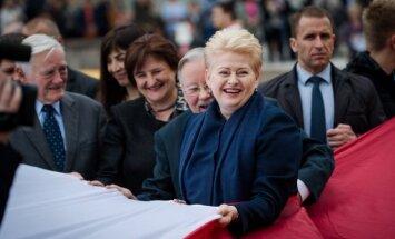 Valdas Adamkus, Vytautas Landsbergis ir Dalia Grybauskaitė