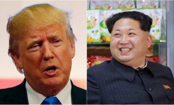 Donaldas Trumpas ir Kim Jong Unas