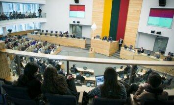 LR Seimo plenarinis posėdis