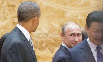 Barackas Obama, Vladimiras Putinas, Xi Jinpingas