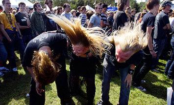 Festivalis Olandijoje, jaunimas,  muzika, rokas, metalas