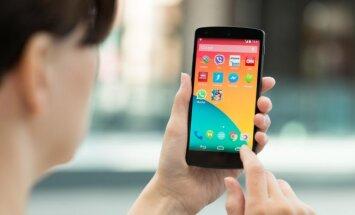 Google Nexus 5 išmanusis telefonas, gaminamas LG