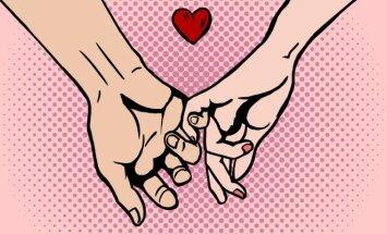 Meilės testas: ką sako jūsų rankos