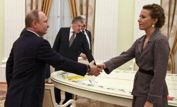 Vladimiras Putinas, Ksenija Sobčiak