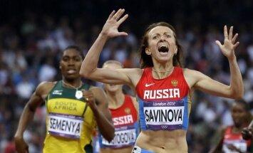 Marija Savinova - vartojo dopingą