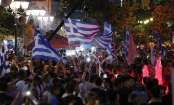 Graikai švenčia