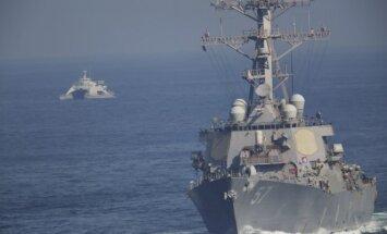 JAV laivyno laivai