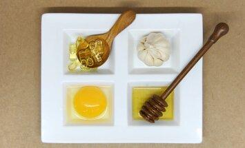 Maisto produktai, iš kurių gamindama veido kaukes rizikuoji sugadinti odą