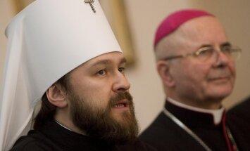 Volokolamsko metropolitas Hilarionas, metropolitas Sigitas Tamkevičius