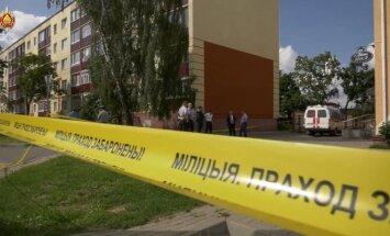 Сотрудники СПБТ Алмаз МВД освободили заложника в Заславле