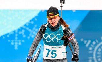 Olimpiados biatlonininkių sprinto lenktynės, Natalija Kočergina ir Diana Rasimovičiūtė