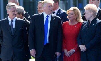 D. Grybauskaitė NATO viršūnių susitikime