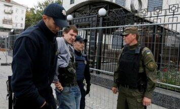 Rinkimų neramumai Kijeve