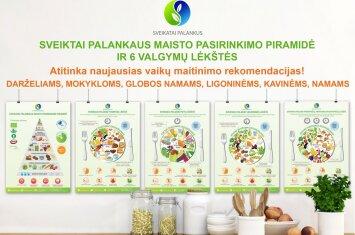 Raminta Bogušienė – apie svarbiausias mitybos taisykles