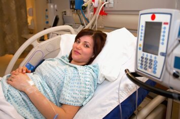 Gabrielė: mano gimdymas truko 4 valandas