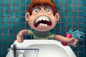Kaip išmokyti vaikus tinkamai pasirūpinti savo dantimis