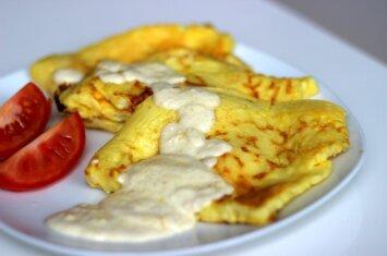 Pagerintas ir dar skanesnis omletas