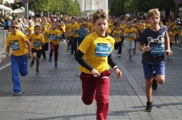 Ar leisti maratone bėgti vaikui: pataria specialistai