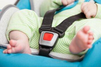 Gydytoja: ko jokiu būdu negalima daryti užspringus vaikui