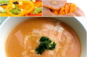 Kai norisi sušilti: sriuba greičiau nei per pusvalandį