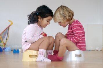 Kaip išmokyti vaiką daryti reikalus į naktipuodį