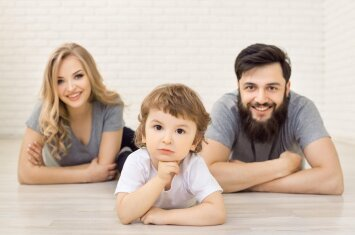 Vienas svarbus skirtumas tarp tėčio ir mamos auklėjant vaikus