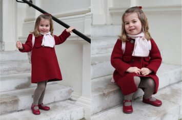 Svarbi detalė, kodėl princesė Charlotte darželį pradeda lankyti būtent dabar