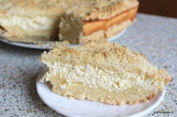 Ko gero, lengviausiai pagaminamas ir skaniausias varškės pyragas