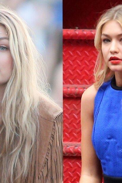 Iki, šviesioji Gigi! Modelis pademonstravo karščiausią vasaros plaukų atspalvį (FOTO)