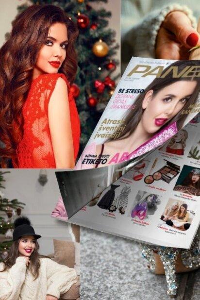 """Naujas numeris: gruodžio """"Panelėje"""" – šventiniai stebuklai"""