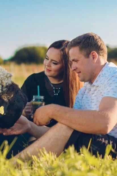 Meilė, užauginta laimingame ūkyje: Radvilė ir Andrius harmoniją randa toli nuo miesto (FOTO)