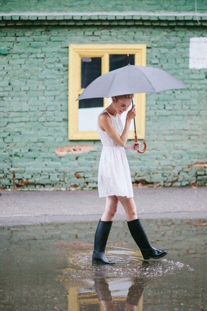 Gamtos išdaigos: kaip atrodyti stilingai lietingą dieną?