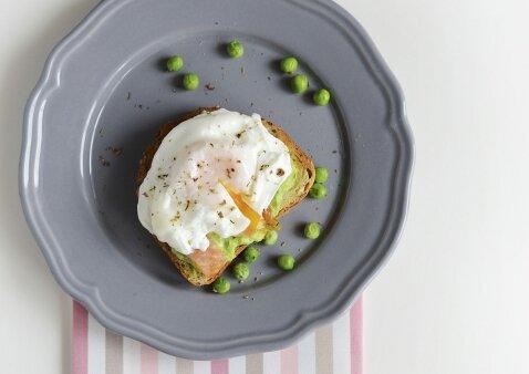 Benedikto kiaušinis su skaniuoju sumuštiniu