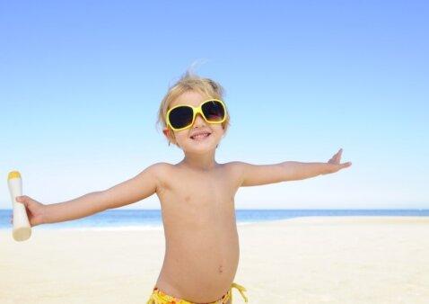 5 taisyklės, kurias turime žinoti būdami lauke saulėtą dieną