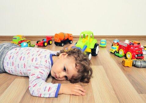 Kiek vaikui reikia žaislų: naujojo tyrimo rezultatai pribloškia