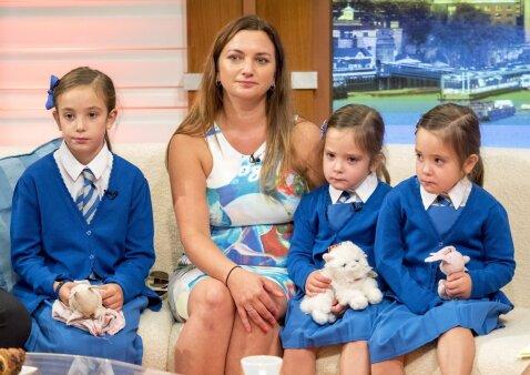 Mažai kas tikėjo, kad jos išgyvens, tačiau šiandien mergaitės pradeda lankyti mokyklą