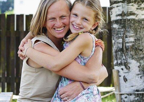 Pažintis su daugiavaike mama iš Vilniaus, įkūrusia netradicinį vaikų darželį