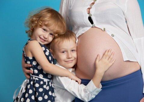 Psichologė: gimus vaikui, konfliktų ir pavydo išvengti neįmanoma