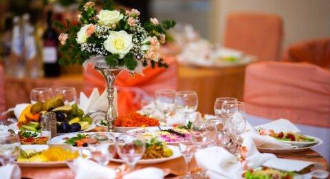 Vaišių stalas vestuvėse