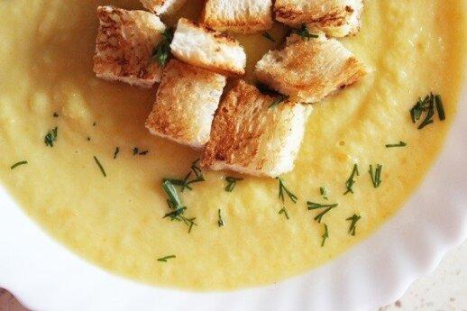 Kreminė moliūgų ir kopūstų sriuba