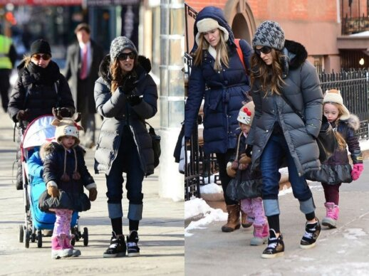 Sarah Jessica Parker su dukromis